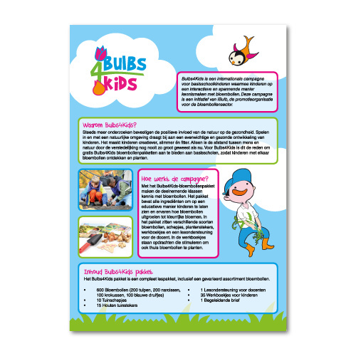 Flyer ontwerp kinderen