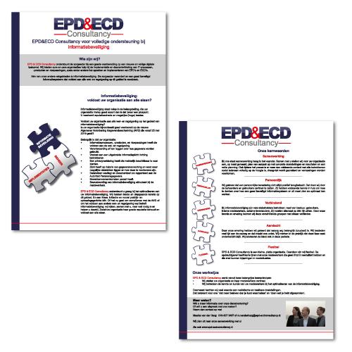 Folder EPD en ECD Consultancy