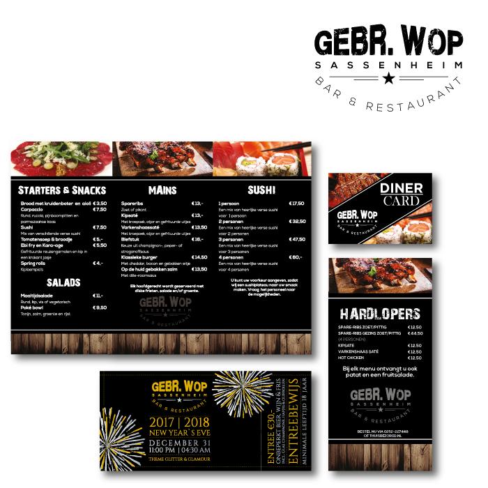 Huisstijl ontwerp GEBR-WOP