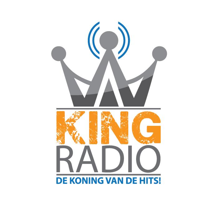 Logo ontwerp King Radio Bollenstreek