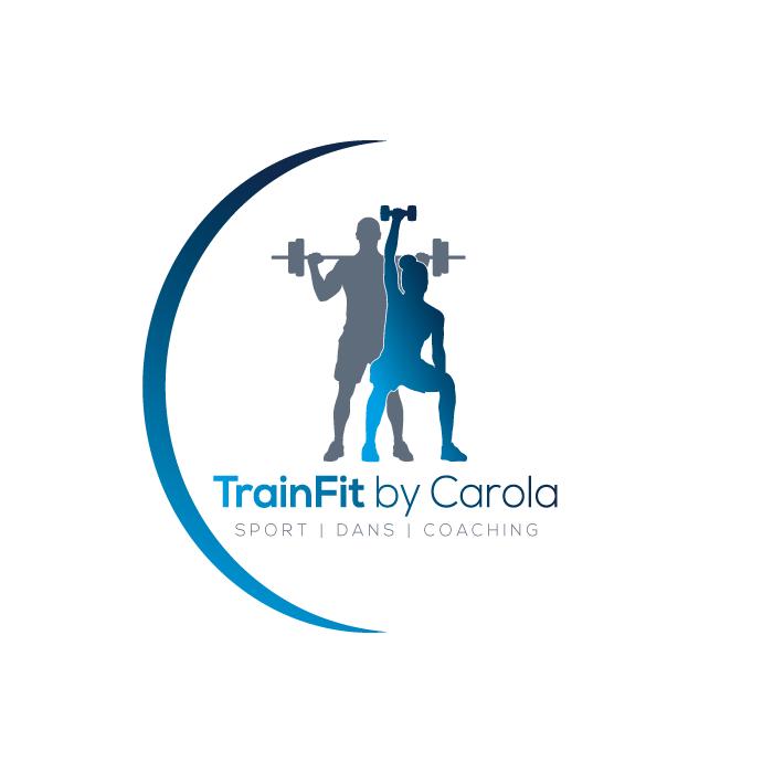 Logo ontwerp TrainFitByCarola