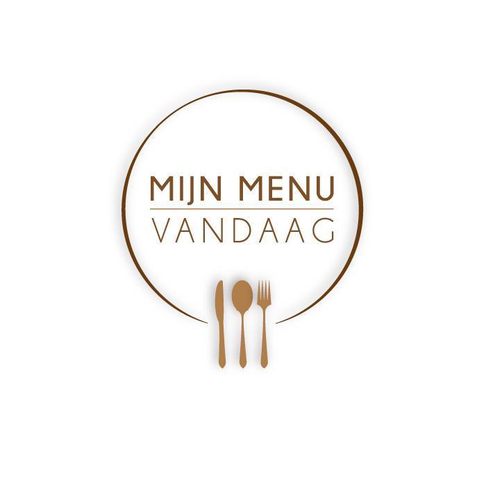 Logo ontwerp Mijn menu vandaag