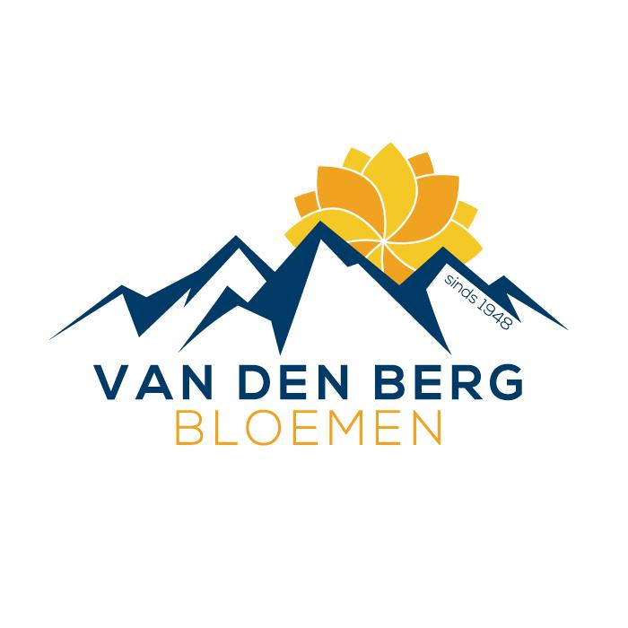 Logo ontwerp vd Berg Bloemen