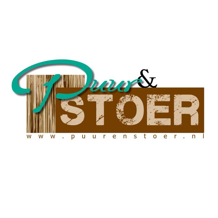 Logo ontwerp Puur en Stoer webshop