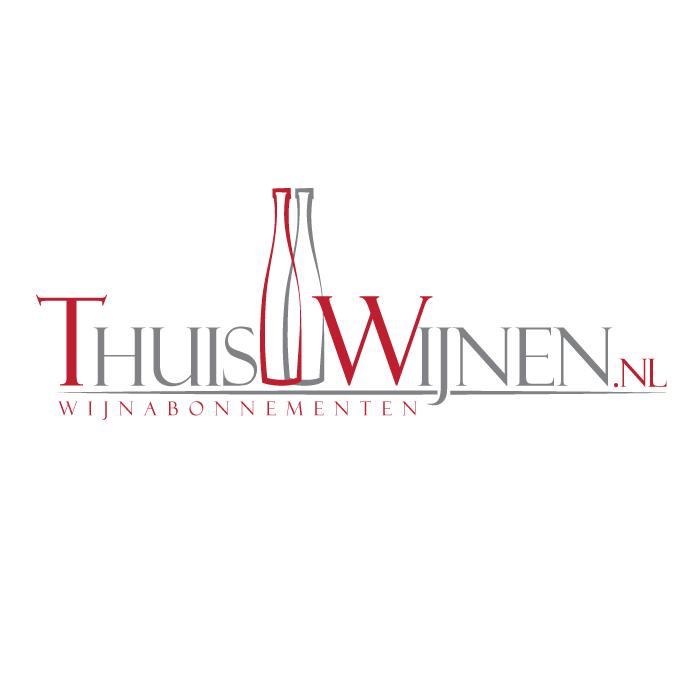 Logo ontwerp Thuiswijnen.nl
