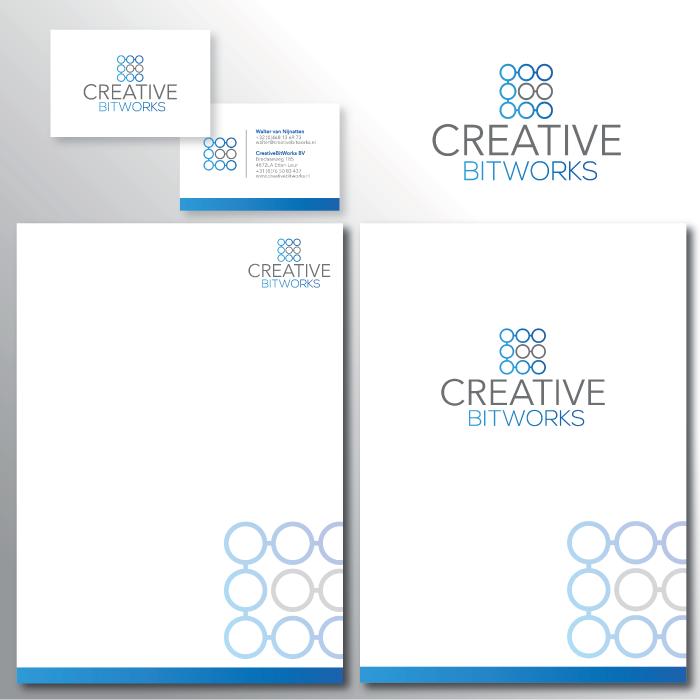 Huisstijl ontwerp Creative Bitworks