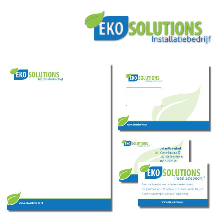 Huisstijl ontwerp Eko Solutions