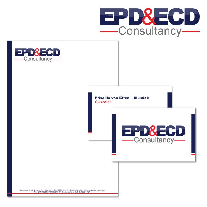 Huisstijl ontwerp EPD&ECD Consultancy