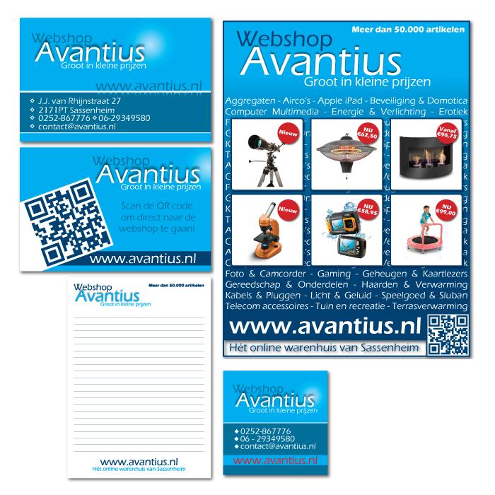 Huisstijl ontwerp Avantius