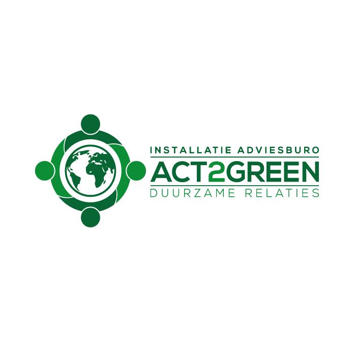 Logo ontwerp Act2Green