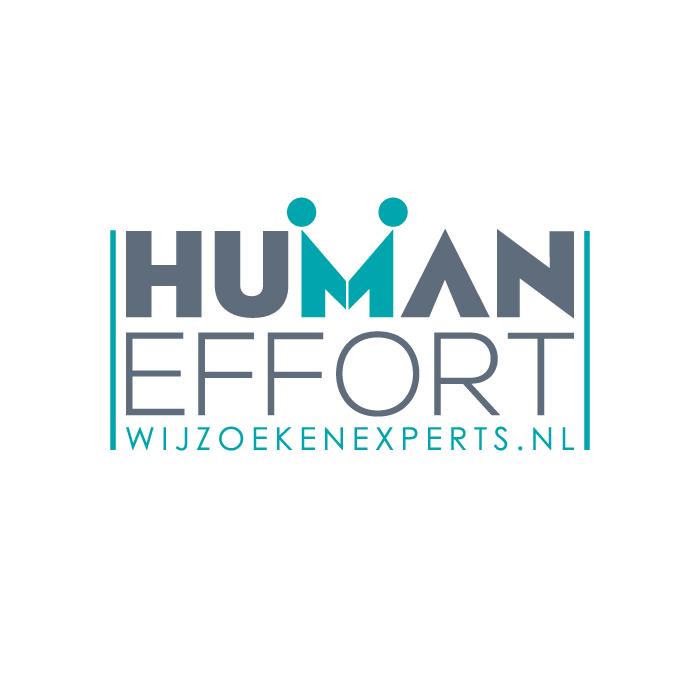 Logo ontwerp uitzendbureau Human Effort
