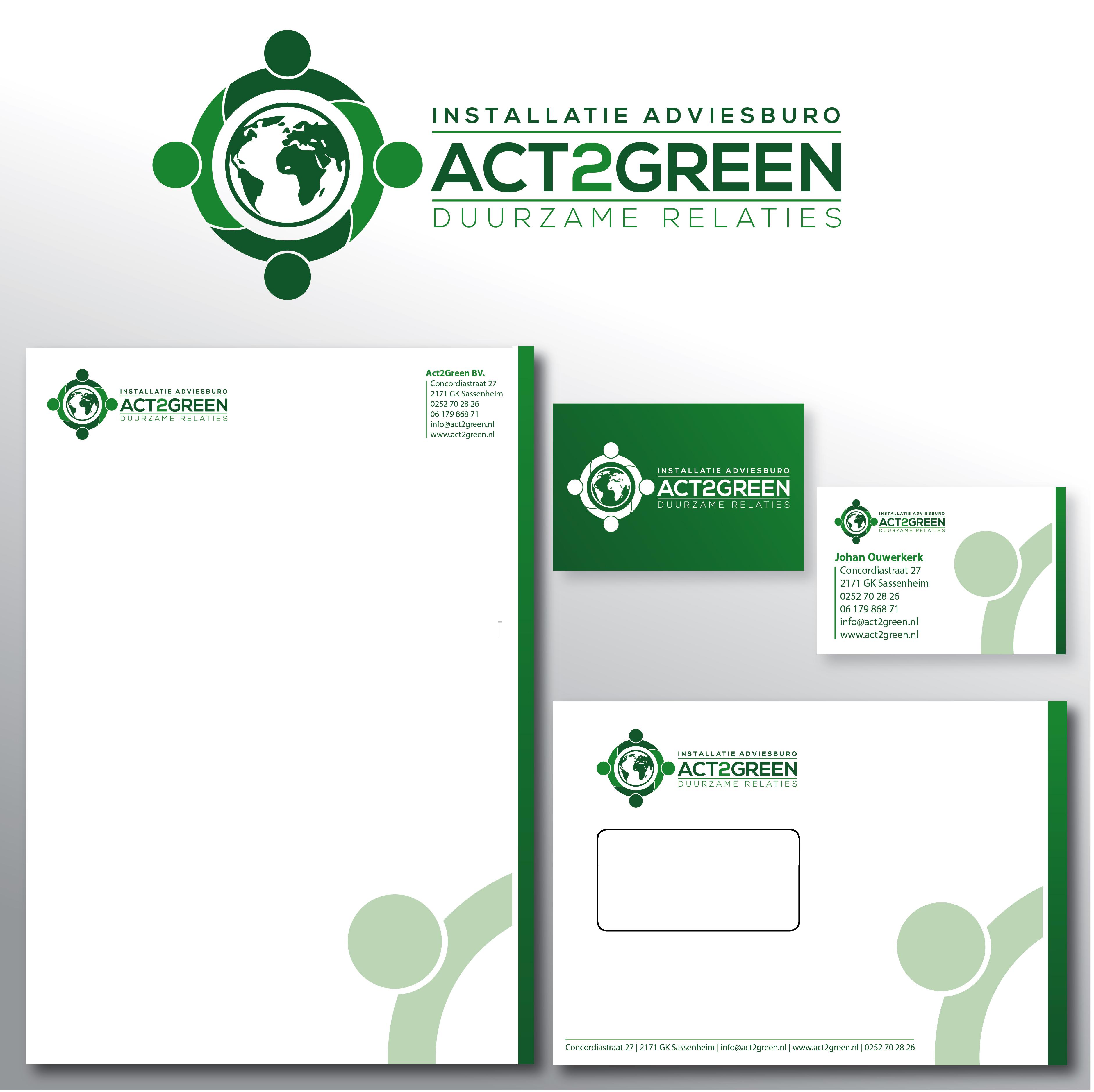 Huisstijl ontwerp Act2green