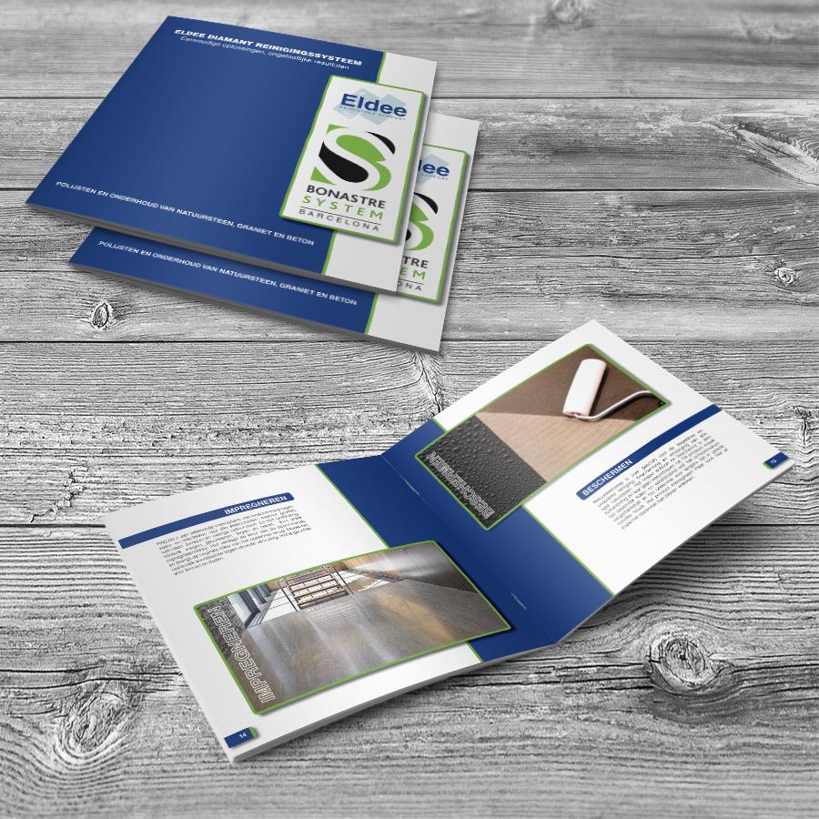 Brochure ontwerp schoonmaakbedrijf