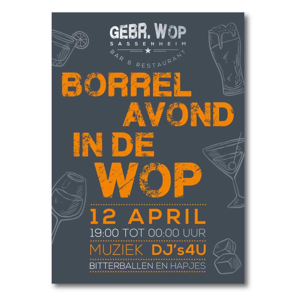 Poster ontwerp Gebr. Wop