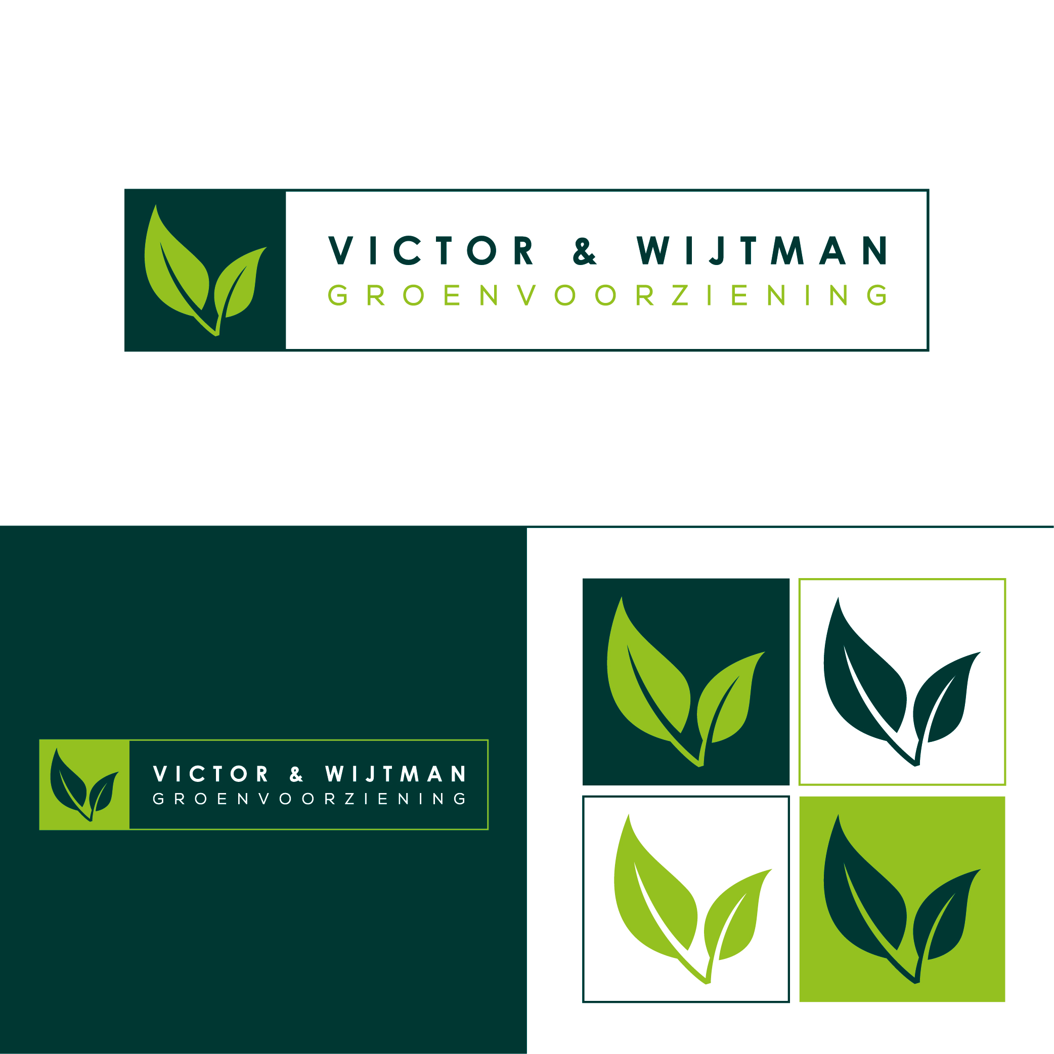Logo Victor en Wijtman Groenvoorziening
