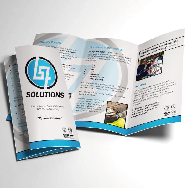 Folder ontwerp 67 solutions