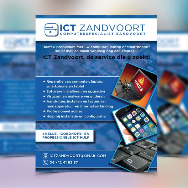 Flyer ontwerp ICT