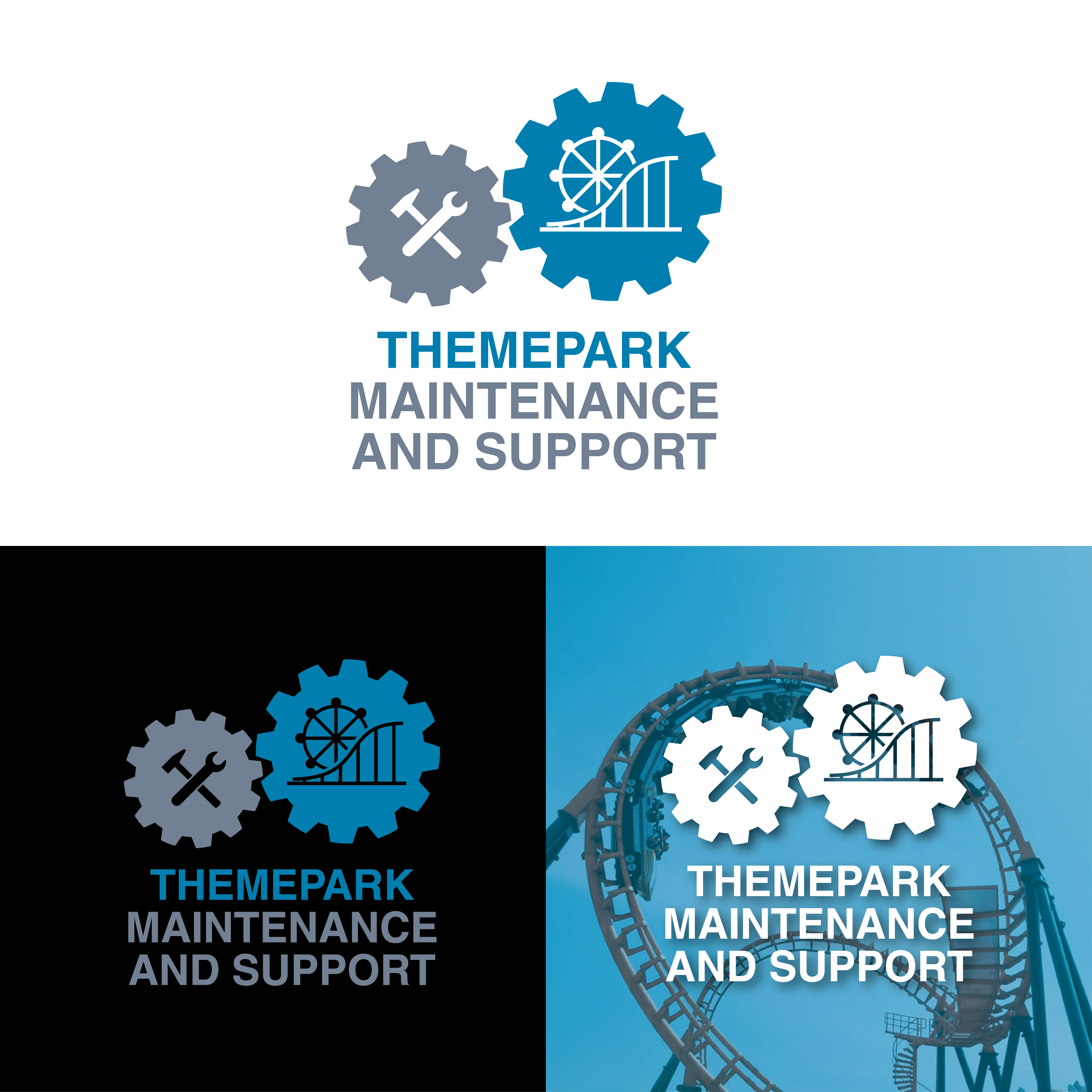 Logo themepark maintenance and support