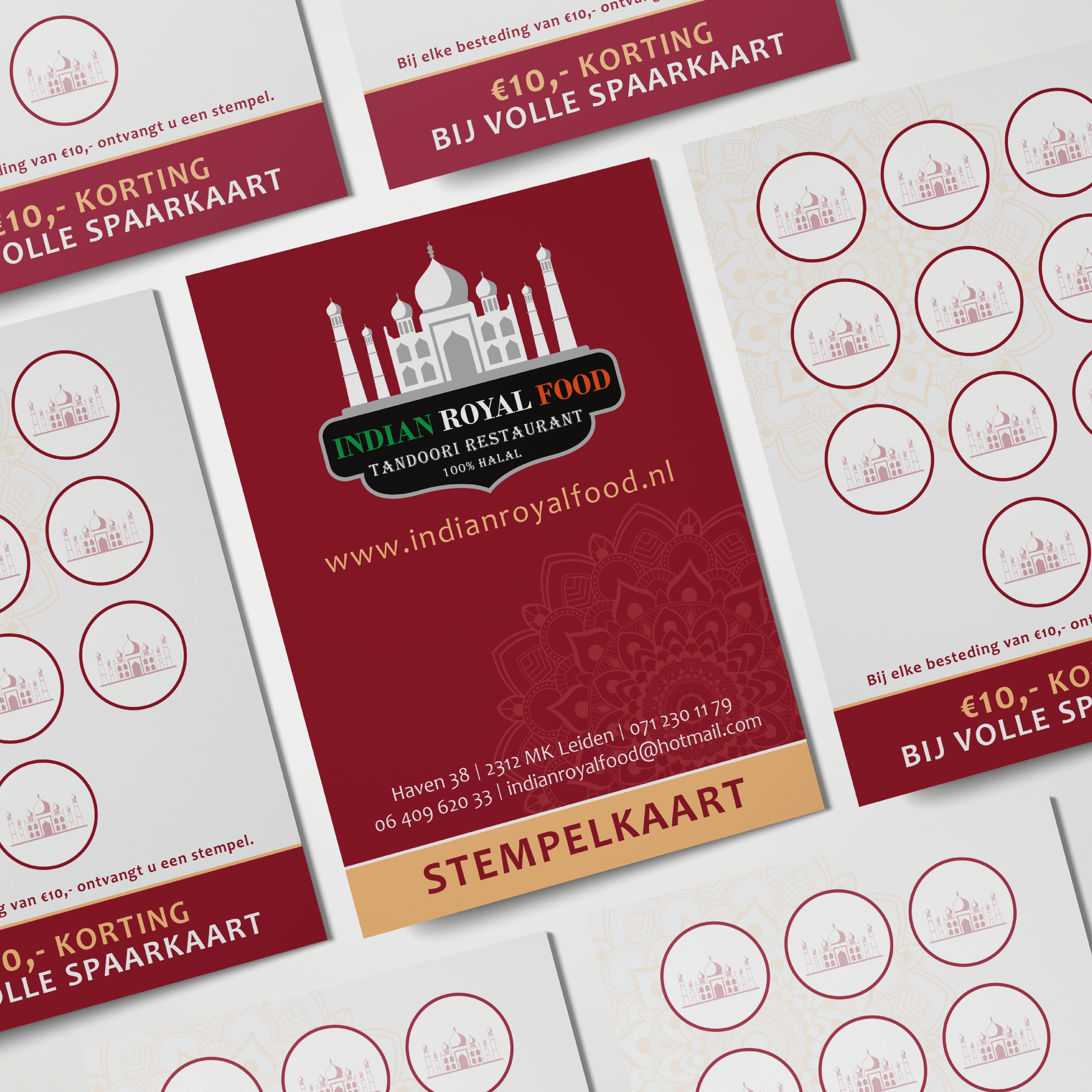Stempelkaart Restaurant