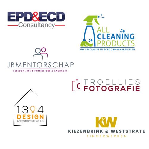 Verschillennde logo ontwerpen
